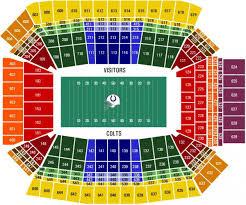 Lucas Oil Stadium Seating Map Lucas Oil Stadium Map Seats
