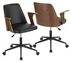 domain office furniture. Furniture Domain. Advertisement. Lumisource Office Chair In  Black And Walnut Finish Domain Office Furniture
