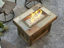 outdoor greatroom vintage 37 12 x 25 5 rectangular gas fire pit table