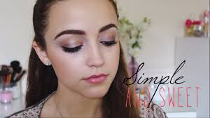 simple full face makeup tutorial