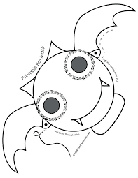 Mask Templates For Adults Delectable Printable Halloween Masks To Color For Colouring Fun Ideas Templates