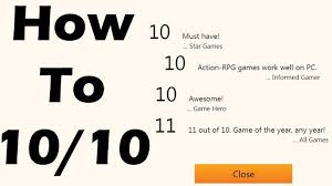 Game Dev Tycoon How To Make A 10 10 Perfect Game