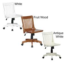 deluxe wooden home office. Office Star Deluxe Wooden Bankers Chair By Products Home W