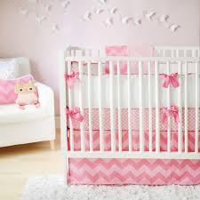 bedroom stylish pink chevron baby girl bedding sets with upholstered chair baby girl monkey