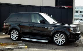 Blog: Our latest Range Rover Sport project - 14th April 2013
