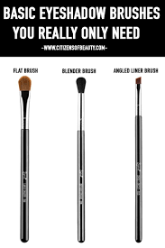 what basic eyeshadow brushes you really need and where to use them