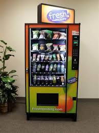 Healthy Vending Machine Franchises Simple No Twinkies Vending Machines Go Organic Business Going Green