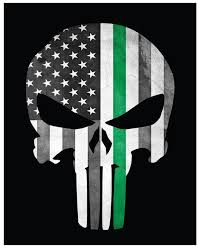 wallpaper american flag punisher
