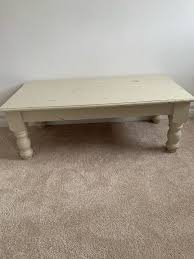 solid oak coffee table needs a