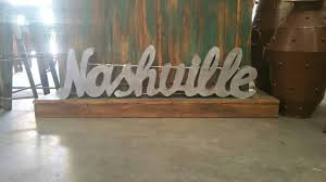 Nashville Sign Decor nashville home decor My Web Value 5