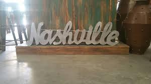 Nashville Sign Decor nashville home decor My Web Value 5