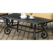 fabulous patio coffee table home greek key wrought iron patio coffee table antique topaz