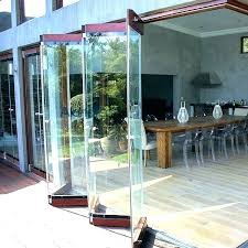 awesome bifold exterior glass doors decor of folding patio