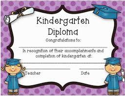 Printable Kindergarten Graduation Awards Download Them Or Print
