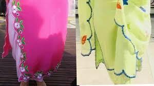 Cutwork Embroidery Designs Suits Punjabi Suit Design With Cutwork Ll Cutwork Embroidery Design