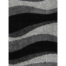 somerset home geometric area rug grey and white  walmartcom