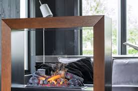 Boxx Contemporary Furniture Design Electric Open Hearth Central Steel For Fireplaces