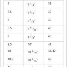 Healthy Feet Com European Shoe Size Chart