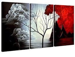 amazon com home art abstract art giclee canvas prints modern