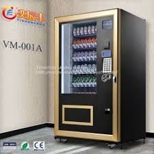 Vending Machine Products Suppliers Awesome YCFVM48A Automatic Drink Vending Machine Hot Food Vending