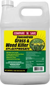 Compare N Save Concentrate Grass And Weed Killer 41 Percent Glyphosate 1 Gallon White 016869