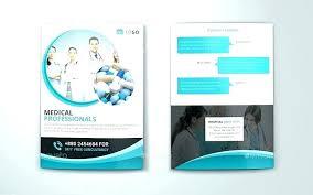 2 Folded Brochure Template Two Fold Brochure Template Free 2 Download Psd Pamphlet Bi