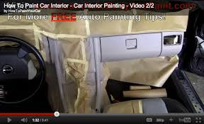 painting car interiorHow To Paint Your Car Interior  Car Interior Painting Tips  How