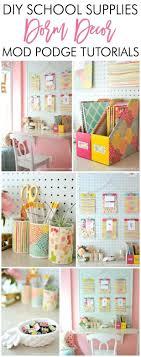 diy office supplies. Adorable Diy Dorm School Supplies Decor W Tutorials Feminine Home Office Accessories T