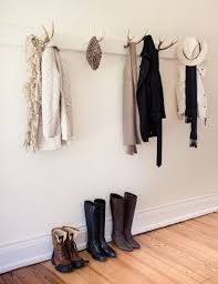 Antler Hook Coat Rack Magnificent Antler Hooks Farmhouse Pinterest Antlers Modern Rustic And Modern