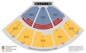 Shoreline Amphitheatre Seating Chart Box Seats Shoreline Amphitheatre Seat Map Rose Bowl Venue Seating