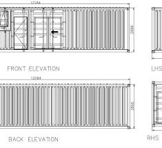 c17 40ft kitchenliving room bedroom bathroom unit deck02