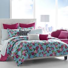 Funky Teen Bedding Adorable Colors Bed Comforter Floral Pattern F Vogue  Design Idea Remodel And Makeovers Girls Que