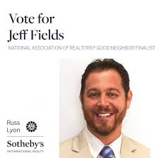 National Association of Realtors ® Recognizes Russ Lyon Sotheby's  International Realty Agent Jeff Fields as 2020 Good Neighbor Award Finalist  | Arizona Association of REALTORS®