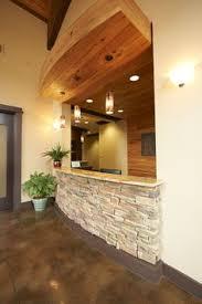 dental office front desk design. reception desk chase lake family dentistry dental office front design