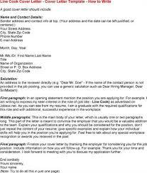 Line Cook Cover Letter Localblack Info