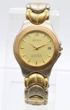 paolo gucci gucci mens watch men s paolo designed by paolo gucci silver gold tone bracelet