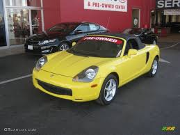 2000 Solar Yellow Toyota MR2 Spyder Roadster #62663348 | GTCarLot ...
