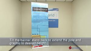 Retractable Display Stands HD Retractable Banner Stands YouTube 99