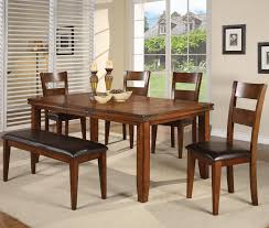 Figaro 6 Piece Dining Table And Side Chairs Set With Bench By Cm At Michaels Furniture Warehouse