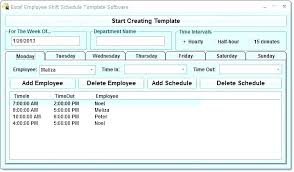 Employee Database Excel Template Free Employee Schedule Maker Excel Screenshot Of The Holiday Tracker