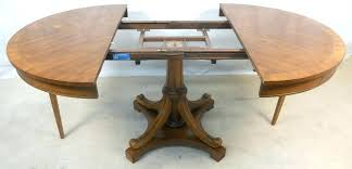 walnut round extending dining table round walnut extending dining round expandable dining table diy extendable dining