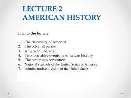 American History Online Presentation