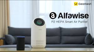 <b>Alfawise P2 HEPA</b> Smart Air Purifier - Gearbest.com - YouTube