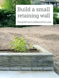 short retaining wall small garden ideas a front patio outdoor brick walls on slope uk sh