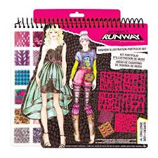 Fashion Angels Project Runway Portfolio: Toys ... - Amazon.com