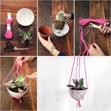 diy hanging planter 1