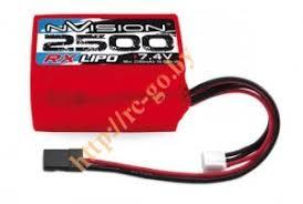 <b>Аккумулятор nVision RX LiPo</b> 7.4V 2S 2500mAh Hump Uni Plug ...