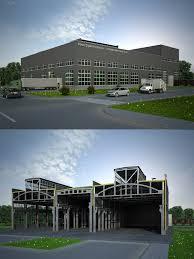Промышленное здание курсовой проект ий курс ПГС