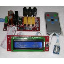 cirrus logic cs3310 remote control preamplifier kit diy audio projects stereonet
