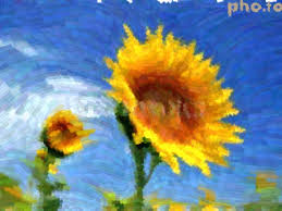 van gogh style photo effect converts a pic into a painting imitation